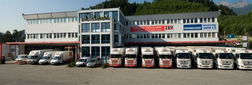 Bürogebäude der Spedition